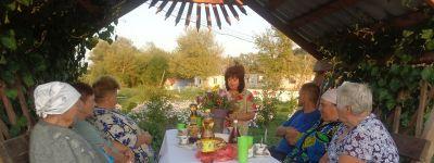 Вкусный праздник «Все идет, как по меду» организовали на Медовый Спас работники Центра культурного развития села Погромец