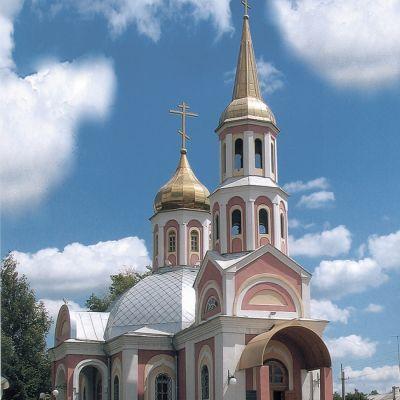 Храм Воскресения Словущего в Октябрьском