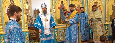Епископ Валуйский совершил Божественную литургию в храме в  Ютановке