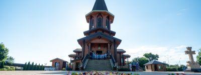 Престольный праздник в храме Серафима Саровского встретили вместе с митрополитом Белгородским