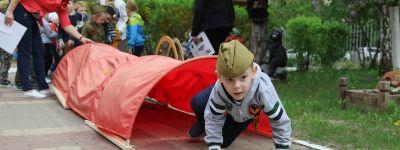 В «Зарницу» сыграли в белгородском православном детском саду