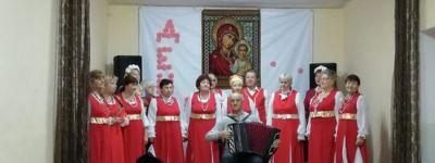 Грайворонский благочинный поздравил жителей села Замостье с праздником