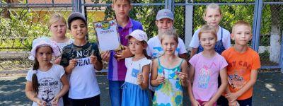 Спортивный праздник организовали в православном лагере «Ковчег»