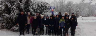 Православные юные губкинцы на Рождество съездили в «Лесную Сказку»
