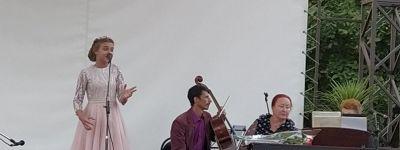 Воспитанники Воскресной школы при Смоленском соборе выступили на вечере классической музыки в центральном парке Белгорода