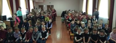 Пасху встретили в школах в Рождествено и Насоново