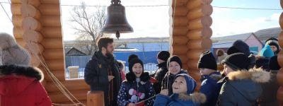 Школьники из Фощеватое, Погромца и Волоконовки впервые побывали в храме Спаса Нерукотворного
