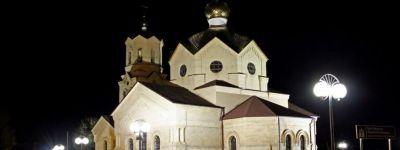 Восстановлено внешнее освещение храма в Колтуновке