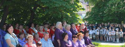 9 хоровых коллективов приняли участие в фестивале хоров «Поющие голоса Грайворонщины»