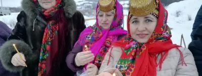 Благочинный Красненского округа освятил воду на чудотворном роднике «Рубленый»