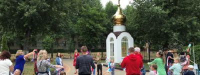 Квест с 9 площадками организовали в детском саду «Светлячок» в Строителе в честь Дня семьи, любви верности