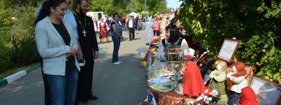 Благочинный Прохоровского округа приветствовал фольклорный фестиваль «Северский Донец – река без границ»