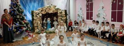 В православном детском саду «Сретенский» в Строителе состоялся праздничный концерт, посвященный Рождеству Христову