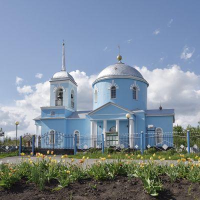 Храм Архистратига Михаила в селе Новенькое