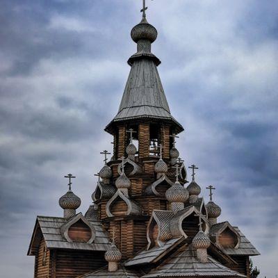 Храм Рождества Иоанна Крестителя в Сухарево