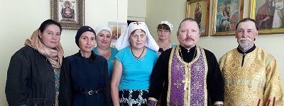 Праздничный молебен и освящение мёда совершено в молитвенной комнате Яковлевской больницы