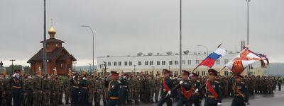 Священник в Валуйках поздравил Висленскую дивизию с 77-летием и пожелал воинам  Божией помощи