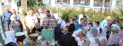 В храме Успения Пресвятой Богородицы прошла ярмарка мёда «Волоконовский медовый пир»