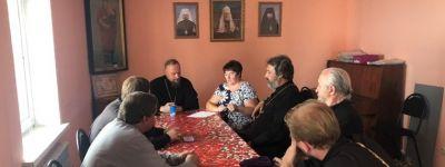 Состоялось собрание духовенства Борисовского благочиния