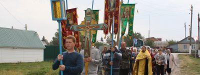Крестный ход в честь Покрова Пресвятой Богородицы прошёл в Иловке
