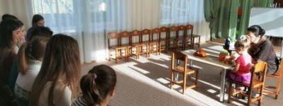 Белгородские студенты-психологи встретились с ребятами из православного детского сада