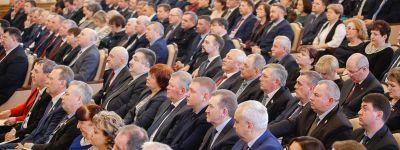 Епископ Губкинский принял участите в заседании Белгородской областной Думы