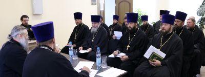 Заседание епархиального Совета состоялось в Валуйской епархии