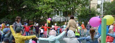 Музыкально-спортивный праздник «Мой любимый город» провели в белгородском православном детском саду