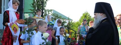 В День Святаго Духа в Камызино отметили престольный праздник
