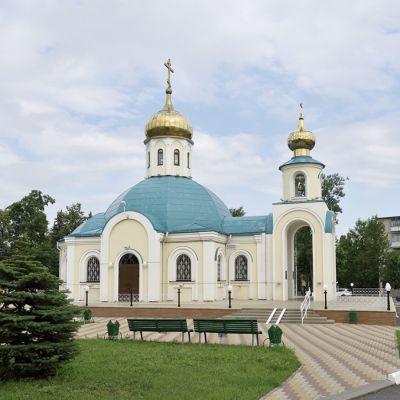 Храм во имя святой блаженной Ксении Петербургской в Губкине