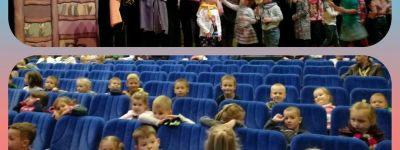 Дети из белгородского православного детского сада «Покровский» посетили спектакли VIII Международного фестиваля театров кукол «Белгородская забава»