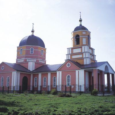 Храм Святителя Василия Великого в Афанасьвке