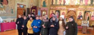 Молитвы о людях, пострадавших в дорожно-транспортных происшествиях вознесли в Красном
