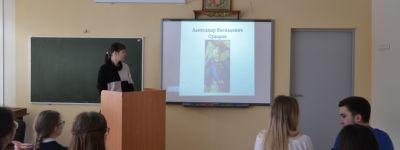 290-летие Суворова отмечают в старооскольской православной гимназии