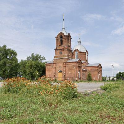 Свято-Михайловский храм в селе Архангельское