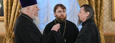 Святейший Патриарх Кирилл возглавил первое в 2019 году заседание Высшего Церковного Совета, в котором принял участие белгородский митрополит
