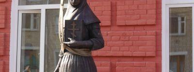 Памятник княжне Ольге Романовой установили в Новом Осколе