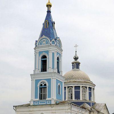 Храм Архистратига Михаила в посёлке Борисовка