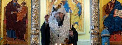Митрополит Белгородский молитвенно почтил память Патриарха Алексия II
