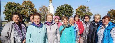 Пенсионеры из Красной Яруги побывали в храме святых апостолов Петра и Павла на Прохоровском поле