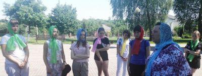 Педагог Детского православного досугового центра провела православную экскурсию для воспитанников летнего лагеря «Лидер»