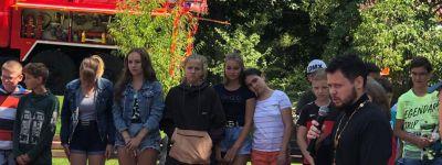 Белгородские спасатели встретились с детьми, отдыхающими на архиерейском подворье «Рождественское»