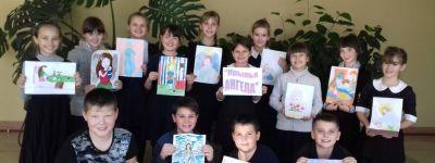 Ребята из Вейделевского Дома детского творчества в ходе акции «Крылья Ангела» поздравили мам своими творческими  работами