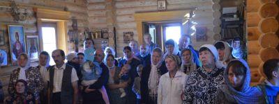 Епископ Губкинский совершил Божественную литургию в храме в честь Димитрия Донского в Призначном