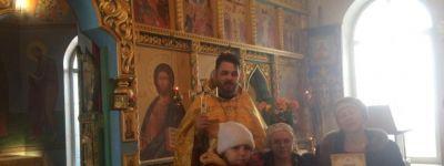 Дипломы ребятам, которые участвовали в конкурсе детского творчества «Красота Божьего мира», вручили в храме в посёлке Пролетарский