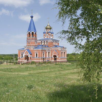 Храм Георгия Победоносца в Афоньевке