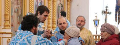 Епископ Валуйский совершил службу в престольный праздник храма в Уразово