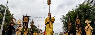 Масштабные торжества в честь Небесного Покровителя Белогорья проходят  в Белгороде