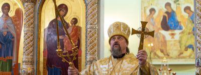 Митрополит Белгородский совершил Божественную литургию в Свято-Троицком домовом храме