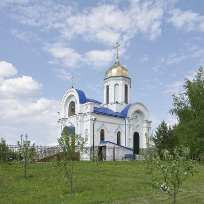 Храм Казанской иконы Божией матери в селе Вязовое